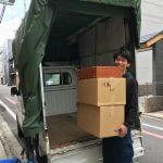 作業中【京都・大阪の単身引越し】